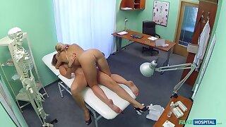 Nurse Seduces Russian Check a depart Checkup